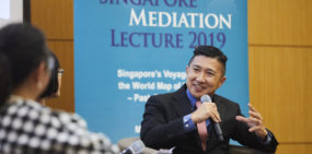 17 Oct 2019: Singapore Mediation Lecture 2019
